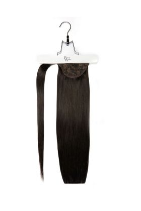 "18"" Super Sleek Invisi®Ponytail -  Natural Black"