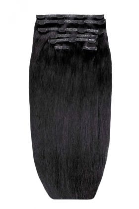 "26"" Double Hair Set - Natural Black"