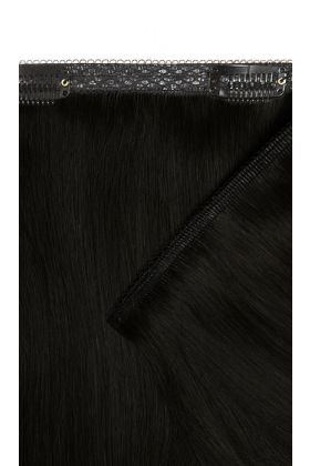 "18"" Double Hair Set Weft - Natural Black"