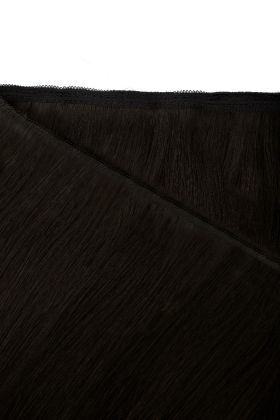 """18"""" Gold Double Weft - Natural Black 1A"""