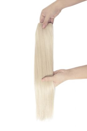 "18"" Invisi®-Weft - Pure Platinum 60A"