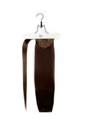 "18"" Super Sleek Invisi®Ponytail -  Raven"