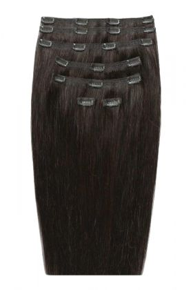 "26"" Double Hair Set - Raven"
