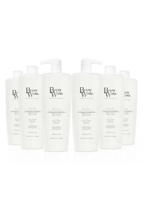 Salon Size Pearl Nourishing Argan Oil Shampoo (Sulphate Free) 1 Litre - 6 Pack