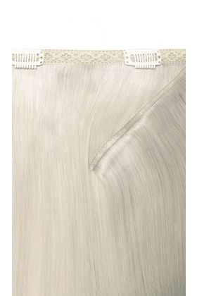 "18"" Double Hair Set Weft - Silver"