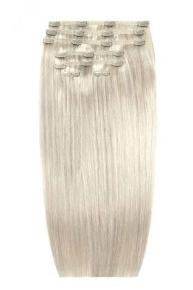 "26"" Double Hair Set - Silver"