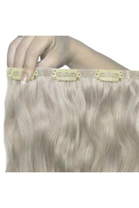 "22"" Beach Wave Double Hair Set - Silver"