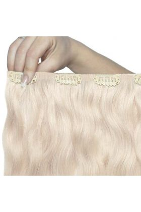 "22"" Beach Wave Double Hair Set - Pure Platinum"