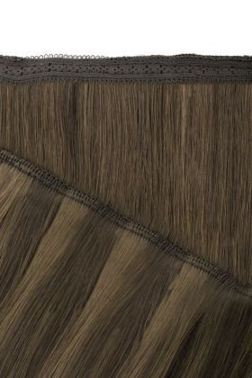 "18"" Gold Double Weft - Ashed Brown"