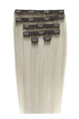 "22"" Double Hair Set - Arctic Blonde"