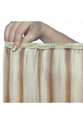 "18"" Double Hair Set - Champagne Blonde"