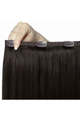"20"" Double Hair Set - Ebony 1B"