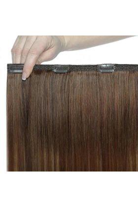 """18"""" Double Hair Set - Mocha Melt"""
