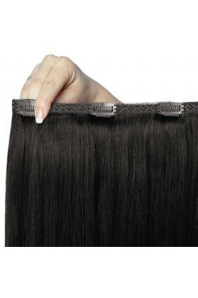 "18"" Double Hair Set - Natural Black"