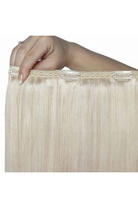 """22"""" Double Hair Set - Pure Platinum 60a"""