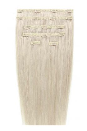 "20"" Double Hair Set - Pure Platinum 60A"