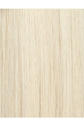 "18"" Celebrity Choice® - Weft Hair Extensions - Pure Platinum"