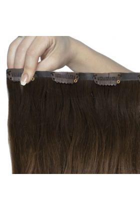 "18"" Beach Wave Double Hair Set - Brond'mbre"