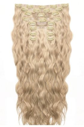 "22"" Beach Wave Double Hair Set - California Blonde"
