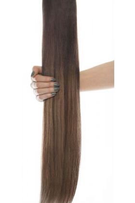 "16"" Celebrity Choice - Weft Hair Extensions - Brond'mbre"