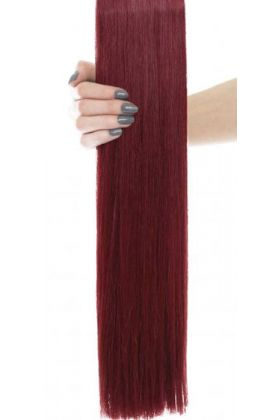 "22"" Celebrity Choice - Weft Hair Extensions -Cherry 530"