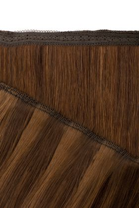 "18"" Gold Double Weft - Chocolate"