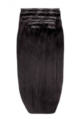 """26"""" Double Hair Set - Ebony"""