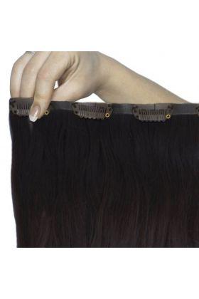"""18"""" Beach Wave Double Hair Set - Ebony"""