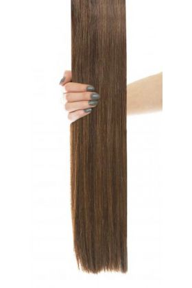 "16"" Celebrity Choice - Weft Hair Extensions - Chocolate 4/6"