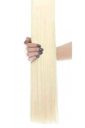 """16"""" Celebrity Choice - Weft Hair Extensions - Vintage Blonde 60"""