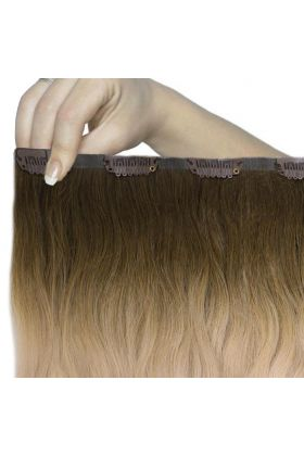 "18"" Beach Wave Double Hair Set - High Contrast Warm"