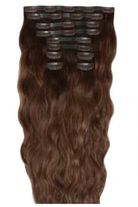 "18"" Beach Wave Double Hair Set - Hot Toffee"