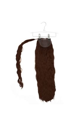 "20"" Invisi®-Ponytail Beach Wave - Hot Toffee"