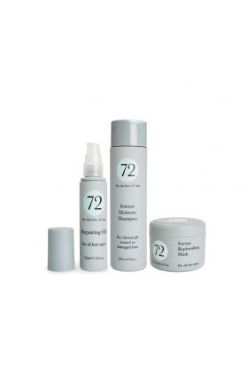 72 Hair Shampoo, Mask & Oil Trio