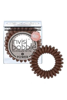 Invisibobble POWER Pretzel Brown - 3 pack