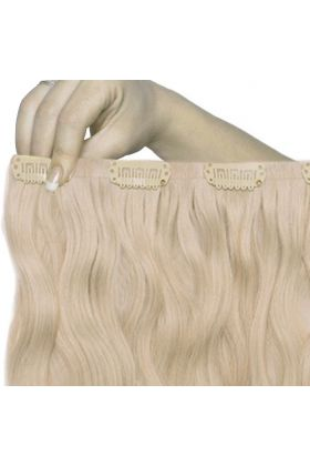 "18"" Beach Wave Double Hair Set - L.A. Blonde"