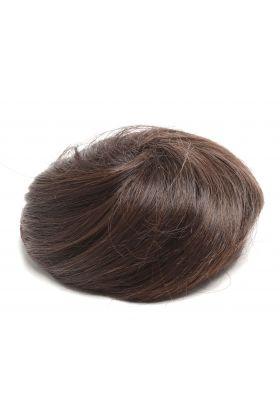 Small Messy Hair Bun - Raven