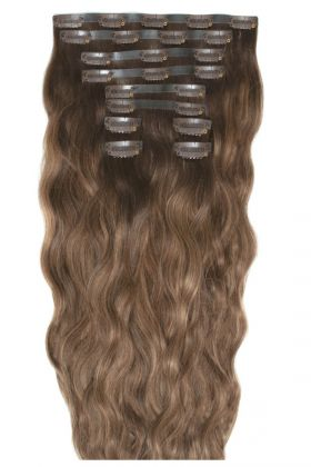 "18"" Beach Wave Double Hair Set - Mocha Melt"