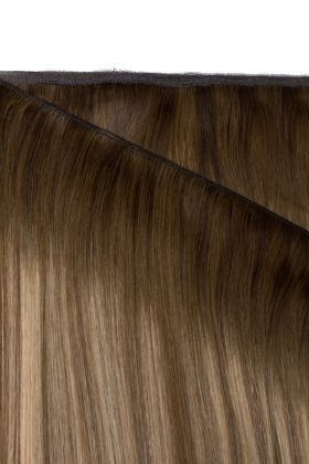 "20"" Gold Double Weft - Mocha Melt"