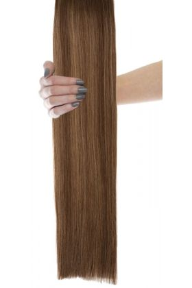 "18"" Celebrity Choice - Weft Hair Extensions -  Blondette 4/27"