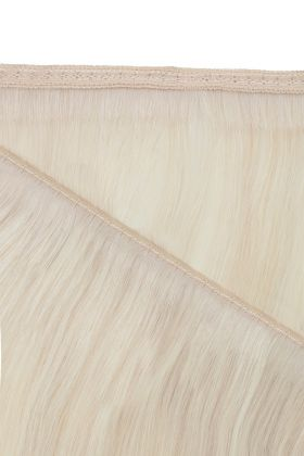 "18"" Gold Double Weft - Pure Platinum"