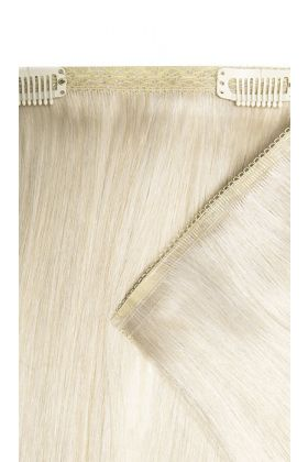 "18"" Double Hair Set Weft - Pure Platinum"