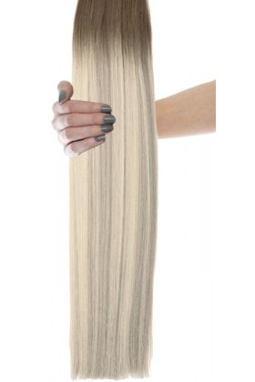 "Beauty Works 18"" Gold Double Weft - Scandinavian Blonde"
