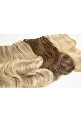 "22"" Gold Double Weft - Barley Blonde"