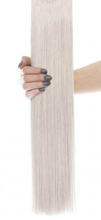 24 Inch Gold Double Weft Silver Beauty Works