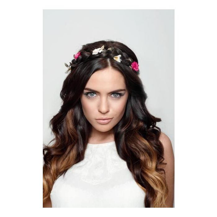 Flower Braid Headband