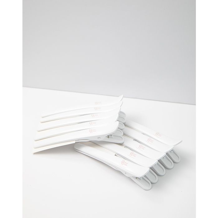 Molly-Mae Curl Kit White Clips Pack of 10