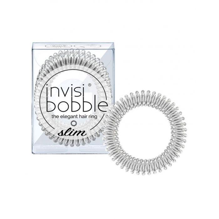 Invisibobble SLIM Chrome Sweet Chrome - 3 pack