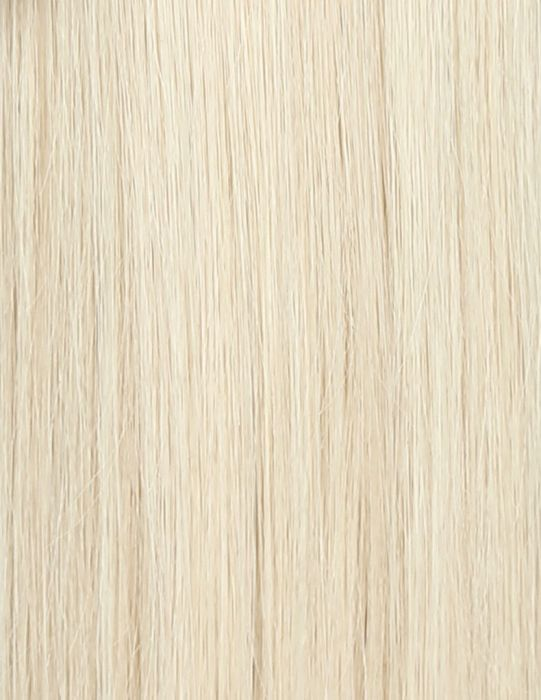 100% Remy Colour Swatch Pure Platinum 60a