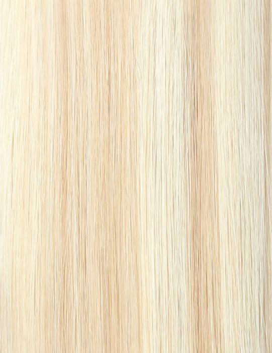 100% Remy Colour Swatch LA Blonde 613/24
